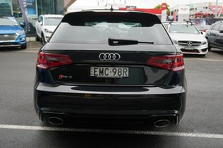 2016 Audi RS 3 8V Sportback Quattro Mythos Black 7 Speed Auto Dual Clutch Hatchback
