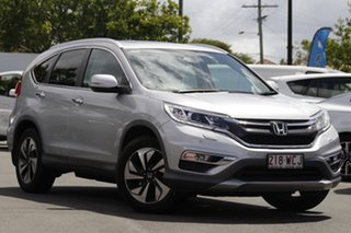 2015 Honda CR-V RM Series II MY16 VTi-L Silver 5 Speed Sports Automatic Wagon