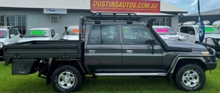 2018 Toyota Landcruiser VDJ79R GXL Double Cab Grey 5 Speed Manual Cab Chassis.