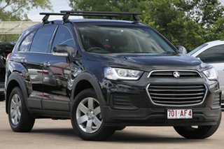 2016 Holden Captiva CG MY16 LS 2WD Black 6 Speed Sports Automatic Wagon.