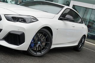 2020 BMW M235i F44 xDrive Gran Coupe Alpine White 8 Speed Auto Sports Mode Coupe.