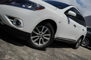 2014 Nissan Pathfinder R52 MY14 ST-L X-tronic 2WD White 1 Speed Constant Variable Wagon.