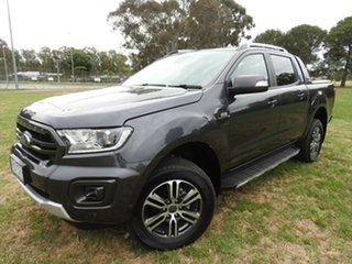 2019 Ford Ranger wildtrak Grey 6 Speed Automatic Dual Cab.