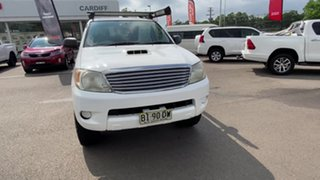 2007 Toyota Hilux KUN26R MY08 SR White 5 Speed Manual Utility