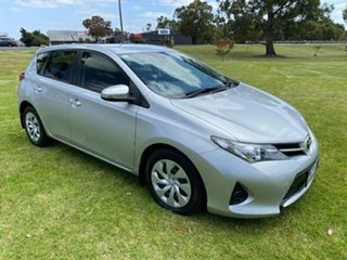 2013 Toyota Corolla ZRE182R Ascent Silver 6 Speed Manual Hatchback.