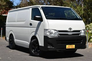 2012 Toyota HiAce TRH201R MY12 LWB White 5 Speed Manual Van.