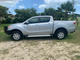 2011 Mazda BT-50 XTR Silver 6 Speed Automatic Crewcab