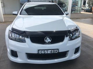 2013 Holden Commodore VE Series II SV6 White Sports Automatic.