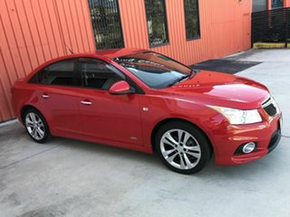 2014 Holden Cruze JH Series II MY14 SRi Z Series Red 6 Speed Manual Sedan