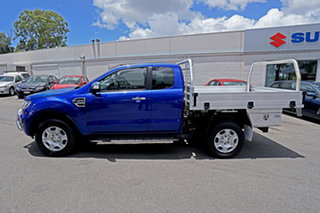 2017 Ford Ranger PX MkII XLT Super Cab Blue 6 Speed Manual Utility