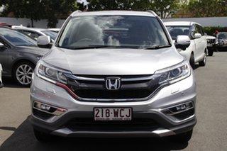 2015 Honda CR-V RM Series II MY16 VTi-L Silver 5 Speed Sports Automatic Wagon.