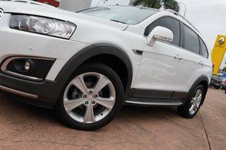 2015 Holden Captiva CG MY15 7 LTZ (AWD) White 6 Speed Automatic Wagon.