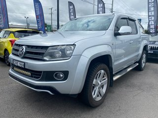 2012 Volkswagen Amarok 2H MY12.5 TDI400 4Motion Perm Ultimate Silver 6 Speed Manual Utility