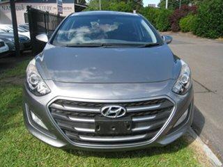 2015 Hyundai i30 GD MY14 Active Grey 6 Speed Automatic Hatchback.
