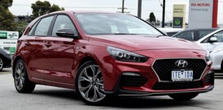 2020 Hyundai i30 PD.V4 MY21 N Line D-CT Fiery Red 7 Speed Sports Automatic Dual Clutch Hatchback