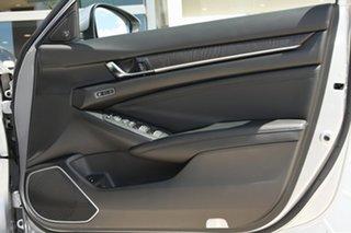 2020 Honda Accord 10th Gen MY21 VTi-LX E-CVT Lunar Silver 1 Speed Constant Variable Sedan Hybrid