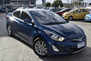 2013 Hyundai Elantra MD3 Trophy Blue 6 Speed Sports Automatic Sedan.