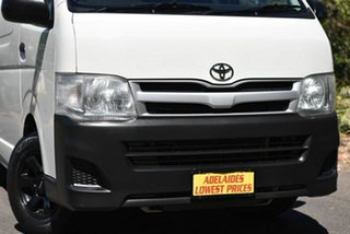 2012 Toyota HiAce TRH201R MY12 LWB White 5 Speed Manual Van