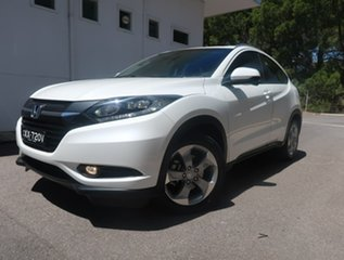 2015 Honda HR-V MY15 VTi-S White 1 Speed Constant Variable Hatchback.