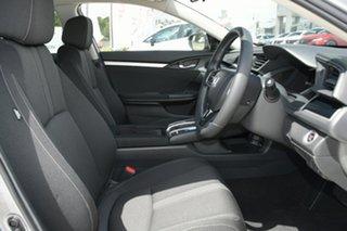2020 Honda Civic 10th Gen MY20 VTi-S Lunar Silver 1 Speed Constant Variable Sedan