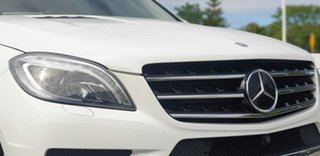 2014 Mercedes-Benz M-Class W166 ML400 7G-Tronic + White 7 Speed Sports Automatic Wagon
