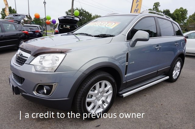 Used Holden Captiva CG Series II MY12 5 Dandenong, 2012 Holden Captiva CG Series II MY12 5 Smokey Eye 6 Speed Sports Automatic Wagon