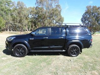 2017 Toyota Hilux SR5 Black 6 Speed Automatic Utility.