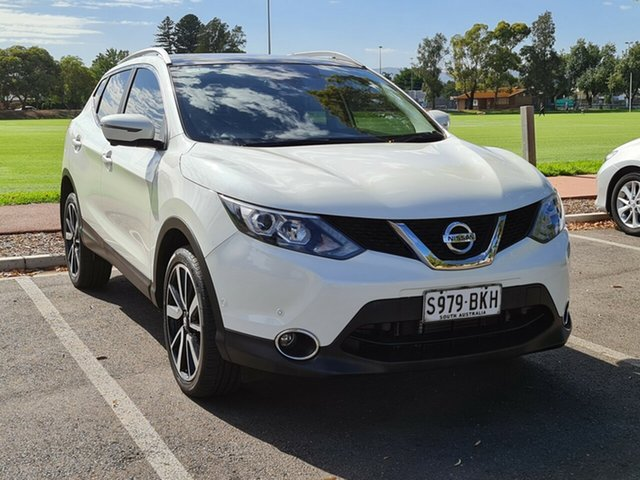 Used Nissan Qashqai J11 TI Nailsworth, 2015 Nissan Qashqai J11 TI White 1 Speed Constant Variable Wagon