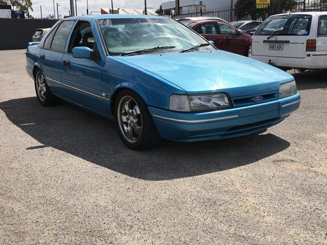 Used Ford Fairmont EB II Ghia Blair Athol, 1993 Ford Fairmont EB II Ghia Blue 4 Speed Automatic Sedan