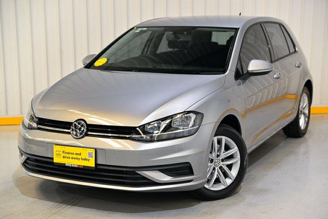 Used Volkswagen Golf 7.5 MY18 110TSI DSG Hendra, 2018 Volkswagen Golf 7.5 MY18 110TSI DSG Silver 7 Speed Sports Automatic Dual Clutch Hatchback