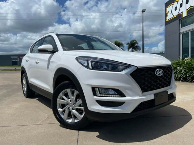 Used Hyundai Tucson TL3 MY19 Active X 2WD Townsville, 2019 Hyundai Tucson TL3 MY19 Active X 2WD White/300919 6 Speed Automatic Wagon
