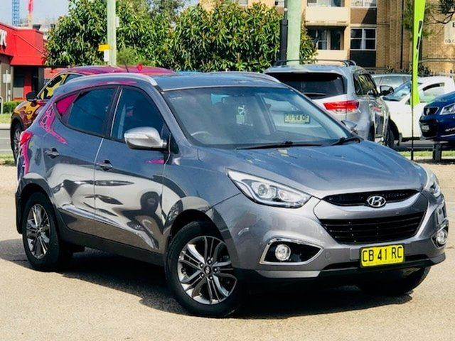Used Hyundai ix35 LM3 MY14 SE Liverpool, 2014 Hyundai ix35 LM3 MY14 SE Grey 6 Speed Sports Automatic Wagon