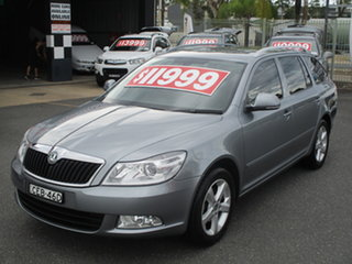 2011 Skoda Octavia 1Z MY11 118 TSI Grey 7 Speed Auto Direct Shift Wagon.