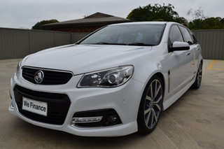 2013 Holden Commodore VF MY14 SS V Sportwagon White 6 Speed Sports Automatic Wagon.