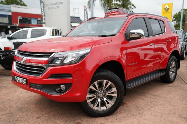 Used Holden Trailblazer RG MY17 LTZ (4x4) Brookvale, 2016 Holden Trailblazer RG MY17 LTZ (4x4) Red 6 Speed Automatic Wagon