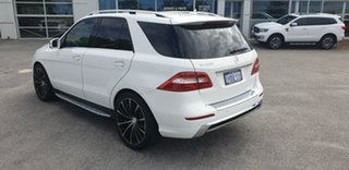 2014 Mercedes-Benz M-Class W166 ML400 7G-Tronic + White 7 Speed Sports Automatic Wagon.