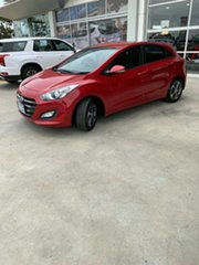 2016 Hyundai i30 GD4 Series II MY17 Active X Brilliant Red 6 Speed Sports Automatic Hatchback