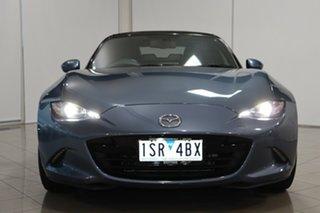 2017 Mazda MX-5 ND GT RF SKYACTIV-Drive Blue 6 Speed Sports Automatic Targa.
