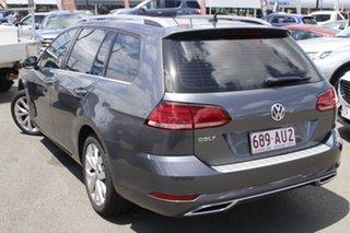 2017 Volkswagen Golf 7.5 MY17 110TSI DSG Highline Grey 7 Speed Sports Automatic Dual Clutch Wagon.