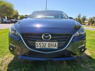 2015 Mazda 3 BM5436 SP25 SKYACTIV-MT Deep Crystal Blue 6 Speed Manual Hatchback