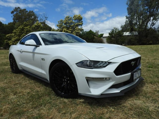 Used Ford Mustang Epsom, 2019 Ford Mustang GT FASTBACK White Automatic Coupe