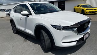 2018 Mazda CX-5 KF4WLA GT SKYACTIV-Drive i-ACTIV AWD White 6 Speed Sports Automatic Wagon.