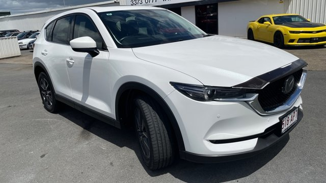 Used Mazda CX-5 KF4WLA GT SKYACTIV-Drive i-ACTIV AWD Moorooka, 2018 Mazda CX-5 KF4WLA GT SKYACTIV-Drive i-ACTIV AWD White 6 Speed Sports Automatic Wagon