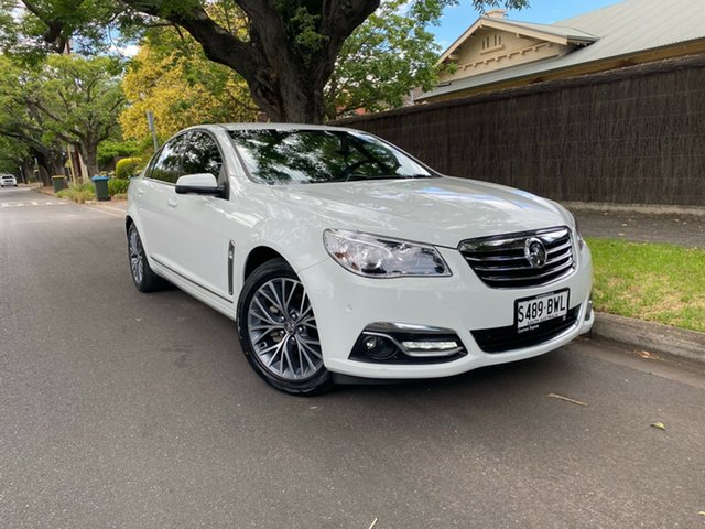 Used Holden Calais VF II MY16 Hawthorn, 2016 Holden Calais VF II MY16 White 6 Speed Sports Automatic Sedan