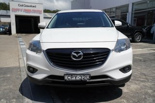 2013 Mazda CX-9 TB10A5 Classic Activematic White 6 Speed Sports Automatic Wagon