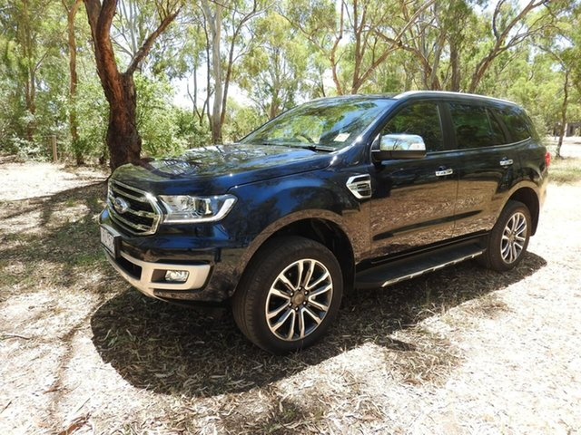 Used Ford Everest Epsom, 2019 Ford Everest Titanuim Blue Automatic SUV