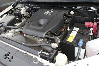 2017 Mitsubishi Triton MQ MY18 GLX Double Cab White 5 Speed Sports Automatic Cab Chassis