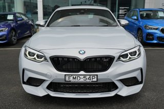 2018 BMW M2 F87 MY19 Competition Hockenheim Silver Metallic 7 Speed Auto Dual Clutch Coupe