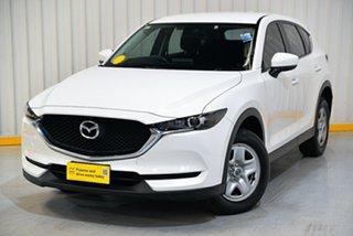 2017 Mazda CX-5 KF4WLA Maxx SKYACTIV-Drive i-ACTIV AWD White 6 Speed Sports Automatic Wagon.