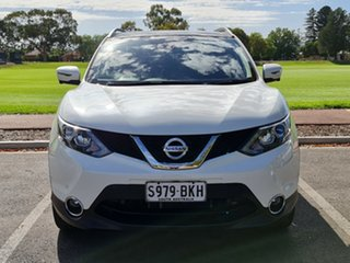 2015 Nissan Qashqai J11 TI White 1 Speed Constant Variable Wagon.